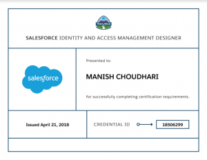 Identity And Access Management Designer – My Experience