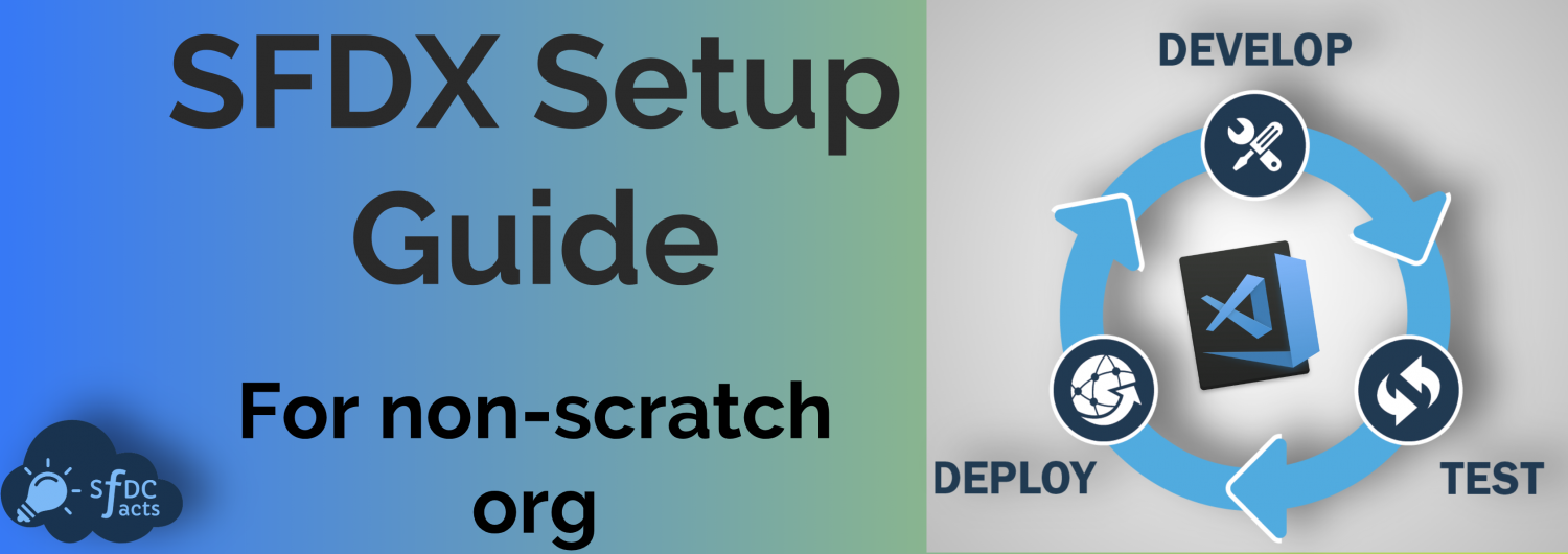 SFDX setup guide – For non-scratch org