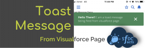 Fire Toast Message from Visualforce Page